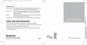 Brookstone Grill Alert Users Manual Manualslib Makes It