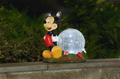 disney disney gazing ball  timer mickey outdoor