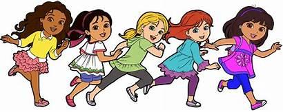 Friends Dora Clipart Cartoon Friend Clip Talking