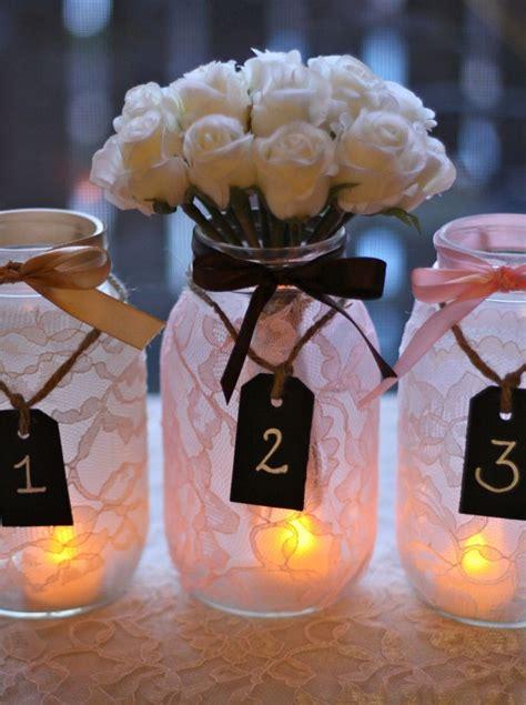 Center Table Decorations For Quinceaneras by Tendencias De Decoraci 243 N Mason Jars O Tarros De Cristal