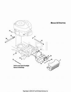 Mtd 13al605h057  2009  Parts Diagram For Engine Accessories