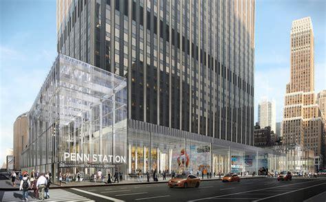 plans  visionary renderings  nycs penn station