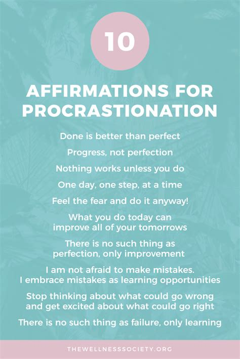 ways  overcome perfectionism affirmations cognitive