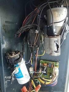 Trane Xb10 Hard Start Capacitor Started On Fire