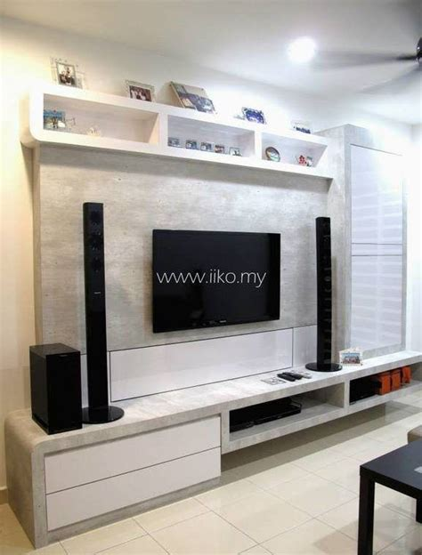 Living Room Wallpaper Malaysia by 50 Tv Cabinet Designs For Your Living Room Tv Cabinet