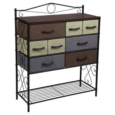 Target Storage Cabinets by Household Essentials 174 8 Drawer Storage Cabinet With Bottom