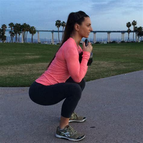 kettlebell squat shape goblet exercise workout fat kb exercises burn burning workouts