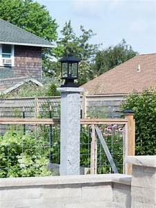 Light, Up, Your, Landscape, With, Granite, Lamp, Posts, Video