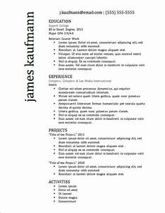 12 resume templates for microsoft word free download With popular resume templates