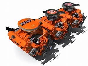 Maya Crysler V8 Engine 440