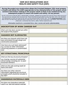 Hse Health And Safety Policy Template Safety Plan Template Cyberuse