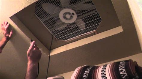 Installing Bathroom Fan Without Attic Access by Cheap Whole House Fan How To Cool Without A C