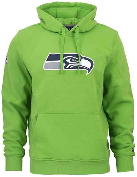 era nfl seattle seahawks team logo hoodie gruen