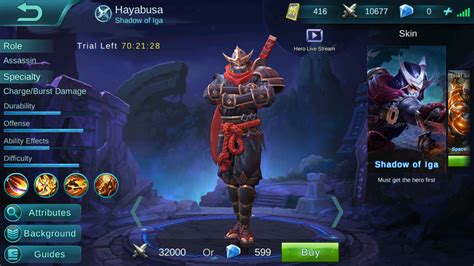 mobile legends forum looking for new hayabusa splash general discussion