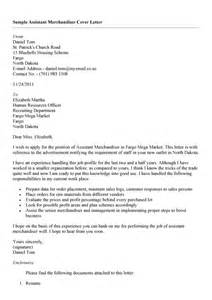 Fashion Merchandiser Resume Cover Letter by Cover Letter Visual Merchandiser Experience Resumes