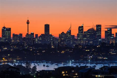 sydney cityscape  sunset  dover heights wt journal