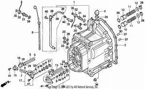 Honda H6522 A4h  A Compact Tractor  Jpn  Vin  Tzad