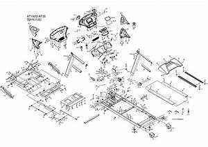 Spirit Xt185 Treadmill Parts  2013   Sn