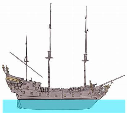 Pearl Ship Reference Pirates Caribbean Side Nautical