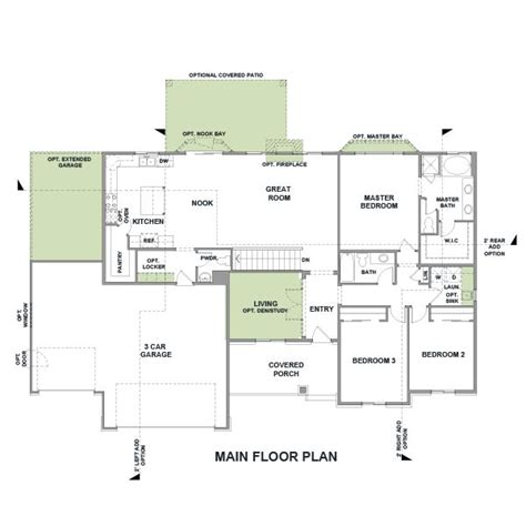 Architecture plans is the best place when you want about images for your need, we found these are beautiful pictures. Rambler House Plans with Basements | Legendary Model - 3 ...