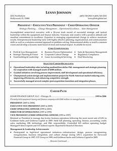 Best executive resume templates samples recentresumescom for Executive cv