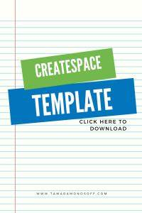 pre formatted createspace template for printed books With createspace formatted template