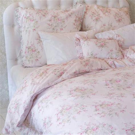 shabby chic doona covers shabby chic 174 tm rachel ashwell double bed roseblossom duvet doona quilt cover ebay