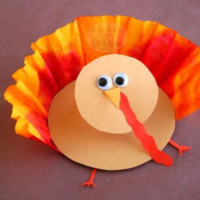 thanksgiving preschool crafts 3d coffee filter turkey craft allfreekidscrafts 3075