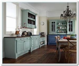 Inspiring painted cabinet colors ideas home and cabinet for Painted kitchen cabinets ideas colors