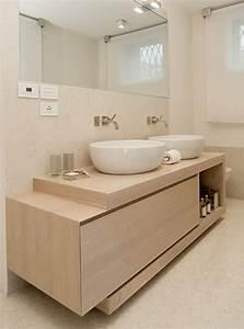 Mobile da bagno in legno massello e listellare Julianne Xlab