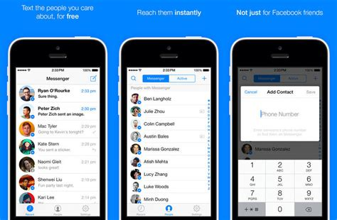 messenger for iphone messenger 3 0 for iphone brings a new design and