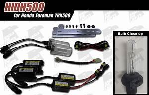 Rare   Foreman  H I D  Lighting Upgrade Trx500  Plug