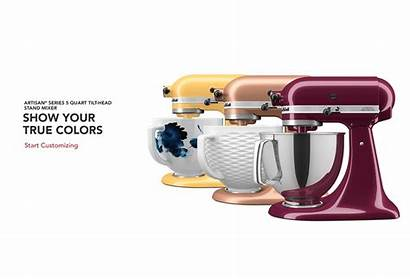 Kitchenaid Customization Tool Exclusive Mixer Stand Individuality