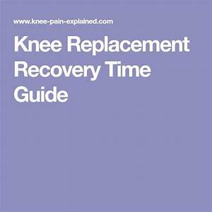 Knee Replacement Recovery Time Guide