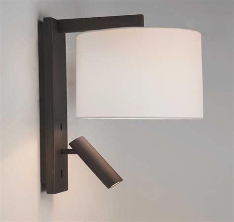 astro ravello led ip20 2 light wall light bronze 7459