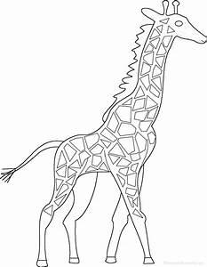 giraffes at enchantedlearningcom With giraffe diagram
