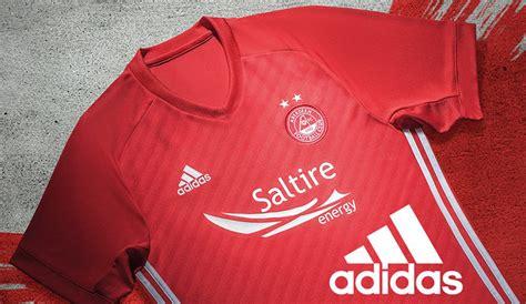 Aberdeen FC adidas 2017-18 Home Kit - Todo Sobre Camisetas