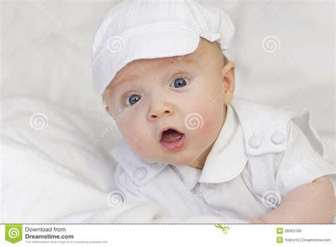 cute newborn baby boy portrait stock image image