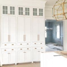 beautiful kitchen features  wall  floor  ceiling pantry cabinets fitted  double ovens