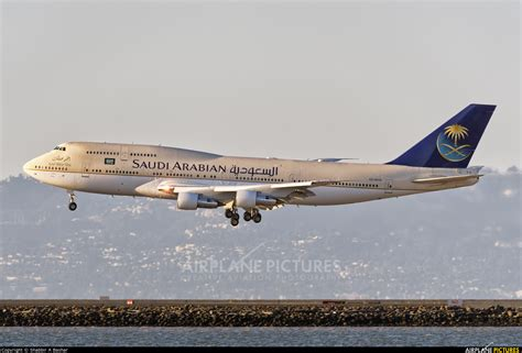 Royal Flight Boeing 747-300 At