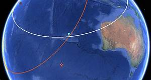 Flight Mh370  U2014 Search Data In Google Earth