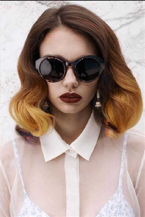 hair color trends ideas for bold