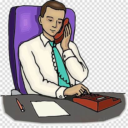 Secretary Clipart Clip Cartoon Job Library Employment