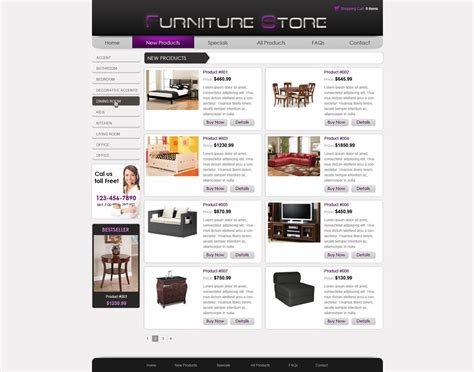 Template Webstore Free by Free Online Store Template Free Ecommerce Website