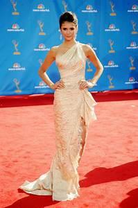 Nina Dobrev at the 2010 Emmy Awards   Vampire Diaries ...