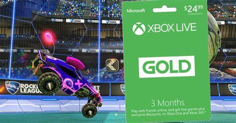 xbox  gold  month membership  rocket league xbox