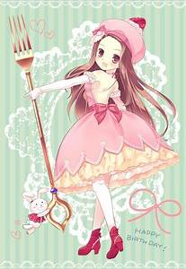 anime, art, chibi, cute, happy birthday - image #309508 on ...