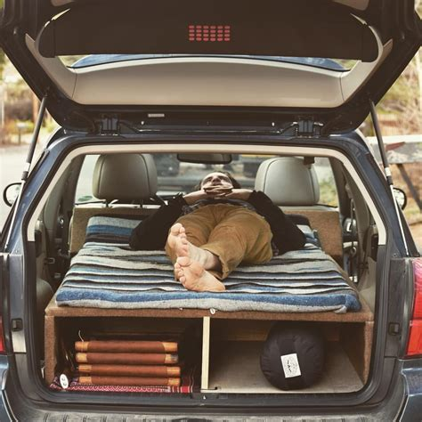 Subaru With Bed by This Is Basically How Much Headroom I Want Above The Bed