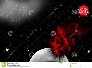 Asteroid Crash Royalty Free Stock Photos - Image: 30504738