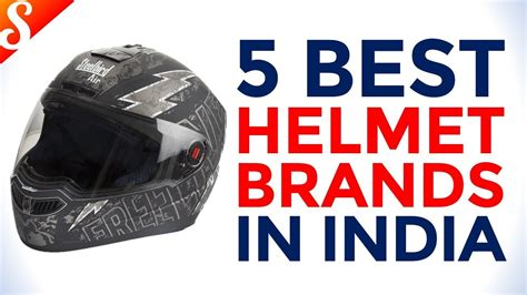 5 Best Helmet Brands In India With Price Youtube